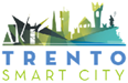 Trento smart city logo