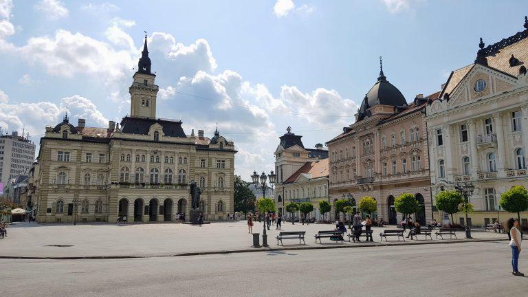 Smart events: Observation of crowd behavior in the city of Novi Sad
