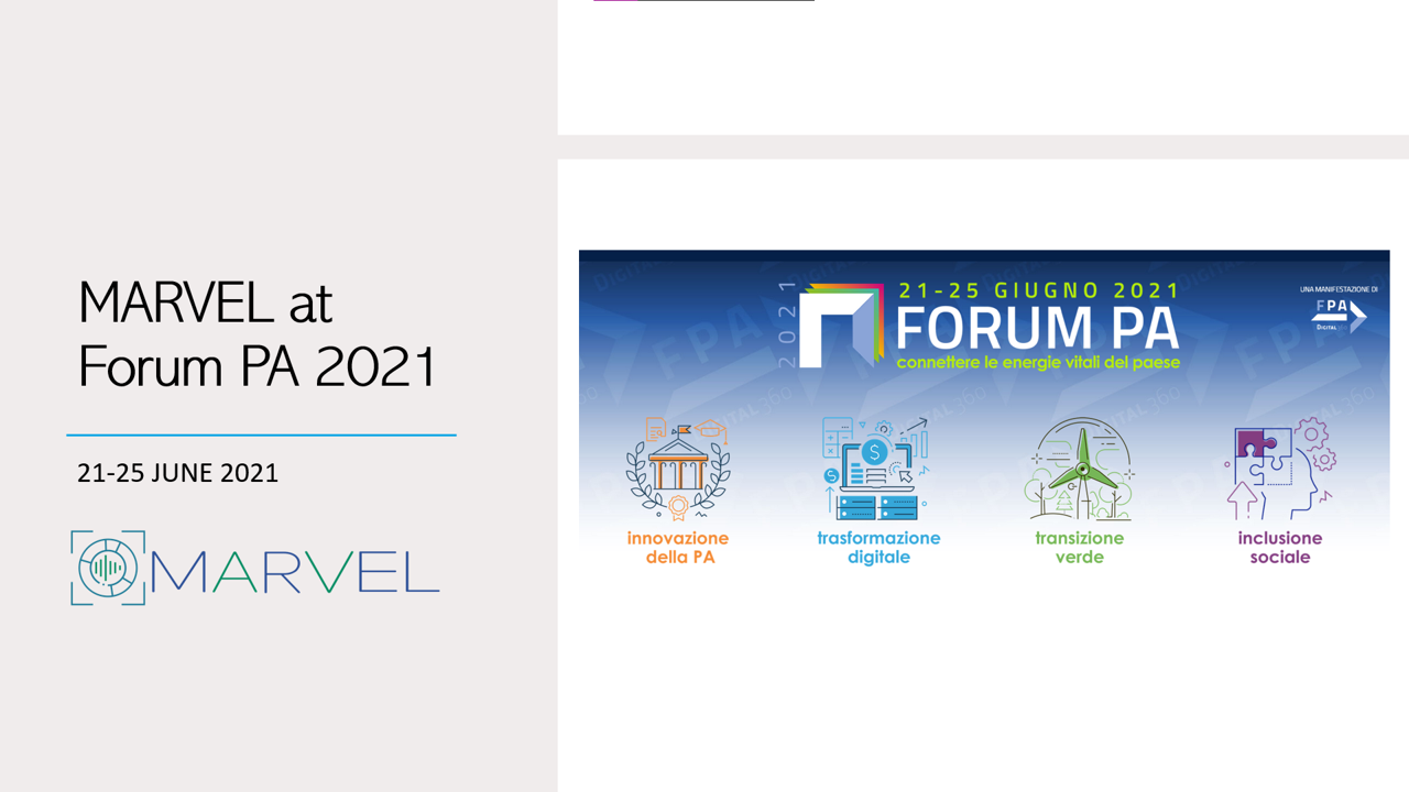 MARVEL at Forum PA 2021