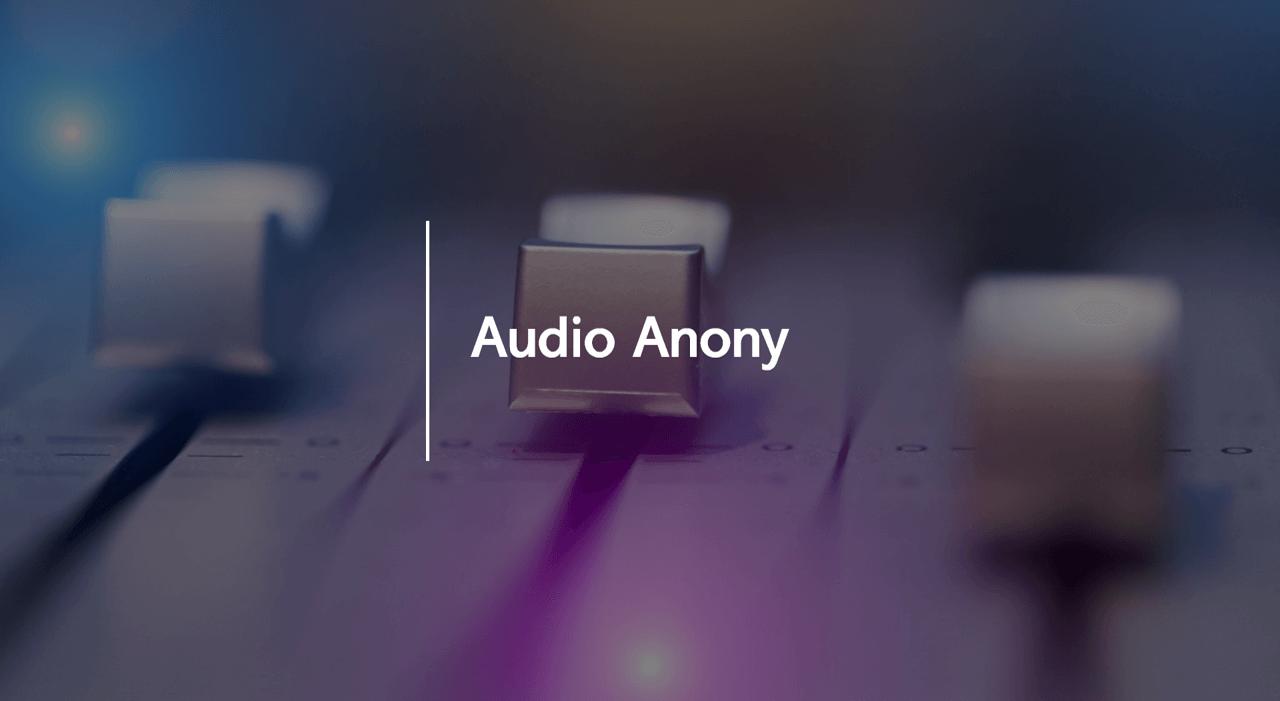 fbk audio anonymization